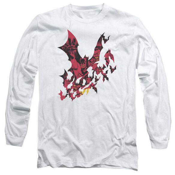 Batman Broken City Long Sleeve Adult T-Shirt