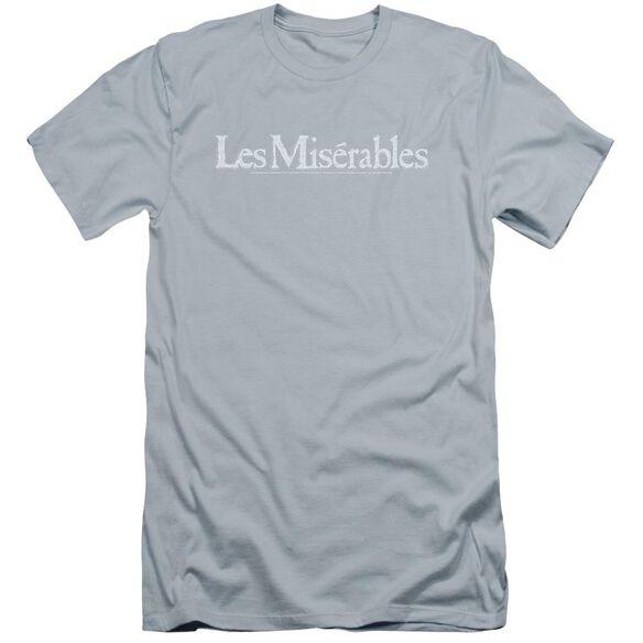 Les Miserables Rubbed Logo Premuim Canvas Adult Slim Fit Light