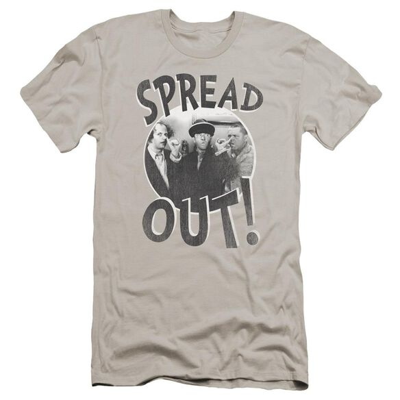 Three Stooges Spread Out Premuim Canvas Adult Slim Fit