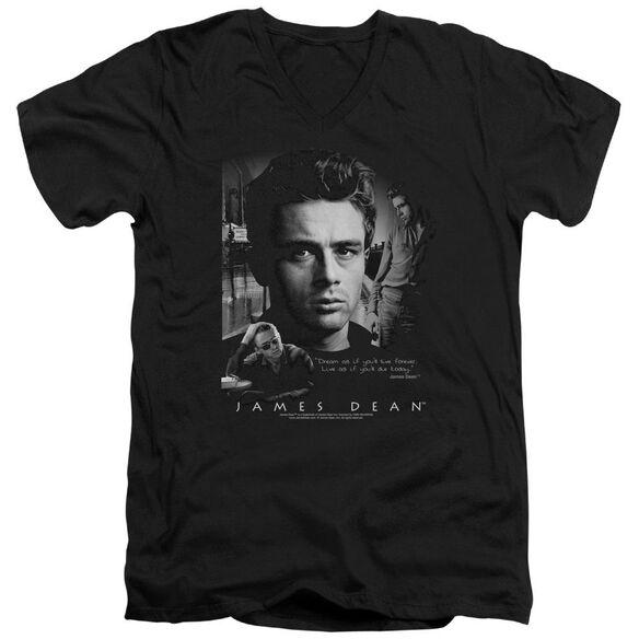 Dean Dream Live Short Sleeve Adult V Neck T-Shirt