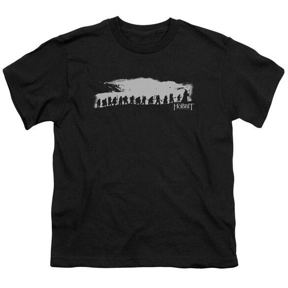 The Hobbit The Company Short Sleeve Youth T-Shirt