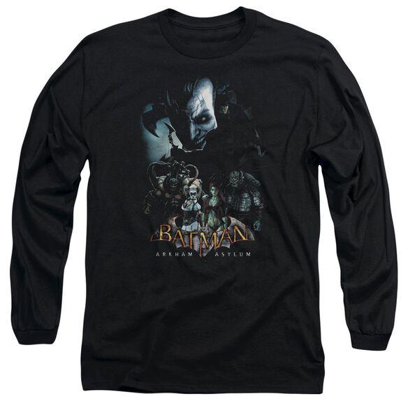 Batman Aa Five Against One Long Sleeve Adult T-Shirt