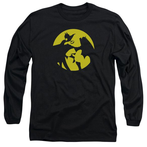 Dco Batman Spotlight Long Sleeve Adult T-Shirt
