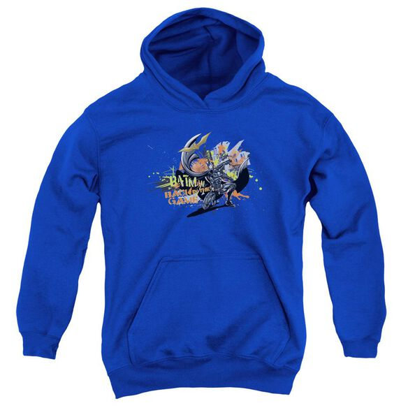 Dark Knight Rises Back In The Game Youth Pull Over Hoodie
