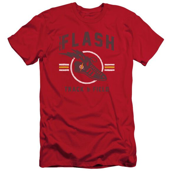 Jla Track And Field Short Sleeve Adult T-Shirt
