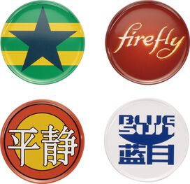 Firefly Four Coaster Set