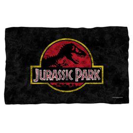 Jurassic Park Classic Logo Fleece Blanket