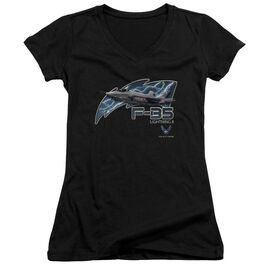 Air Force F35 Junior V Neck T-Shirt