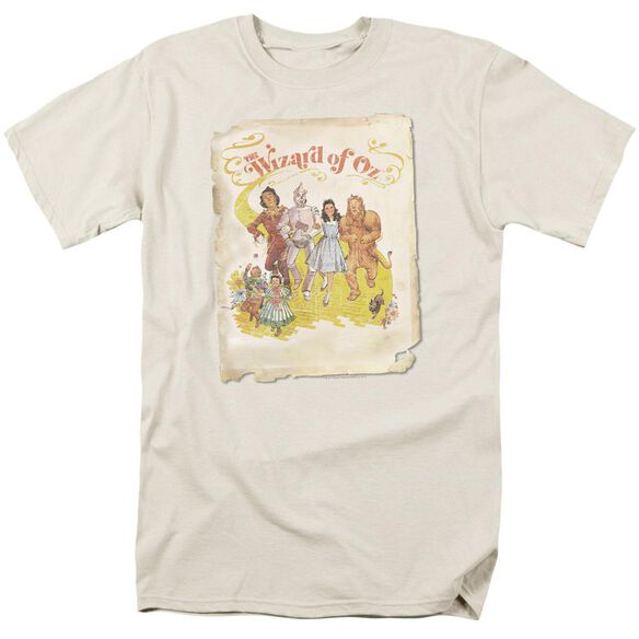 Wizard Of Oz Poster Short Sleeve Adult T-Shirt