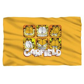 Garfield Faces Fleece Blanket