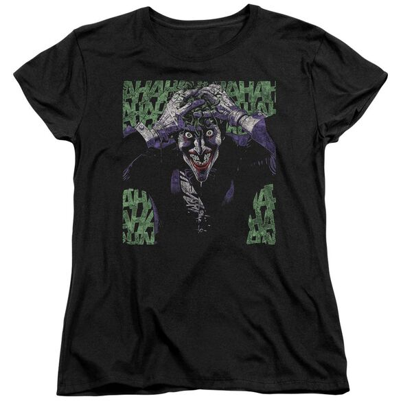 Batman Insanity Short Sleeve Womens Tee T-Shirt
