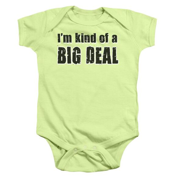 Big Deal Infant Snapsuit Soft Green Md
