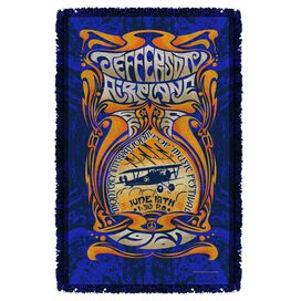 Jefferson Airplane Monterey Pop Woven Throw