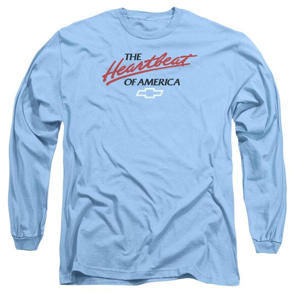 Chevrolet Heartbeat Of America Long Sleeve Adult Carolina T-Shirt