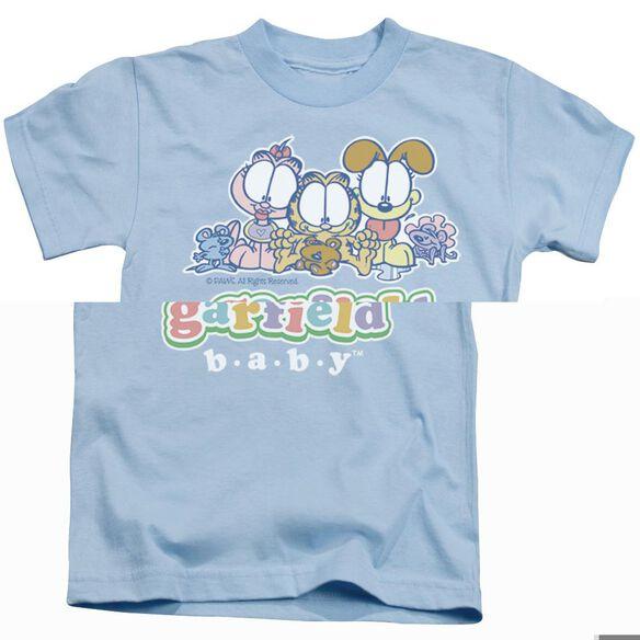 GARFIELD BABY GANG - S/S JUVENILE 18/1 - LIGHT BLUE - T-Shirt