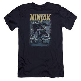 Ninjak Rainy Night Ninjak Premuim Canvas Adult Slim Fit