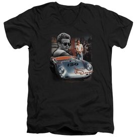 Dean Sunday Drive Short Sleeve Adult V Neck T-Shirt
