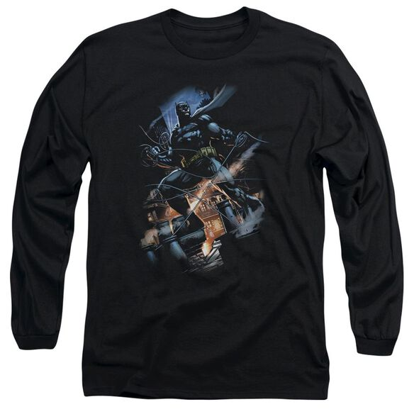 Batman Gotham Knight Long Sleeve Adult T-Shirt