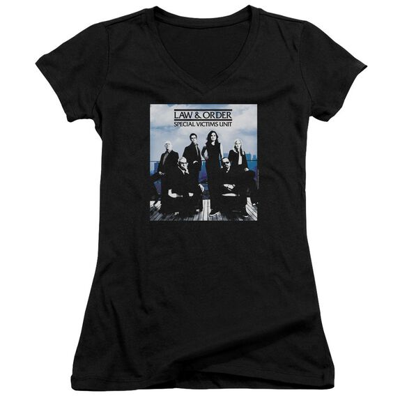Law And Order Svu Crew 13 Junior V Neck T-Shirt