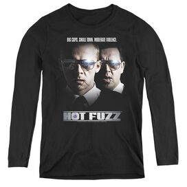 Hot Fuzz Big Cops - Womens Long Sleeve Tee