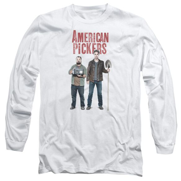 American Pickers American Profit Long Sleeve Adult T-Shirt