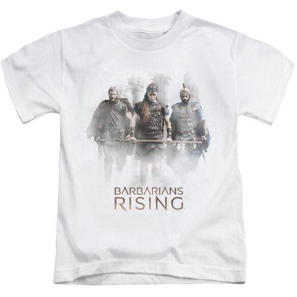 Barbarians Rising Three Barbarians Short Sleeve Juvenile White T-Shirt