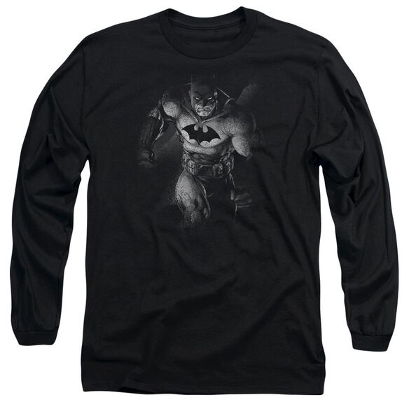 Batman Materialized Long Sleeve Adult T-Shirt