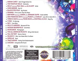 Various Artists - Now That's What I Call Music! 21