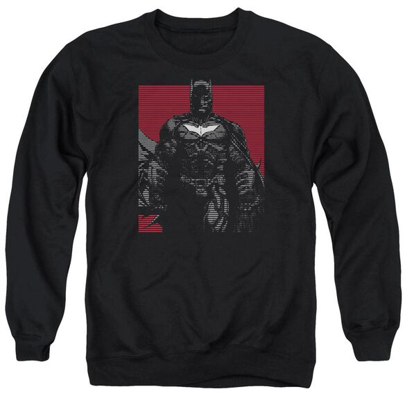 Dark Knight Rises Bat Lines Adult Crewneck Sweatshirt
