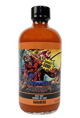 Masters of the Universe Beast Man Ravenous Hot Sauce Habanero