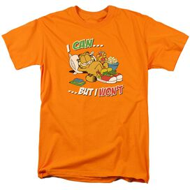 Garfield I Can... Short Sleeve Adult T-Shirt