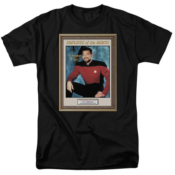 Star Trek Employee Of Month Short Sleeve Adult T-Shirt
