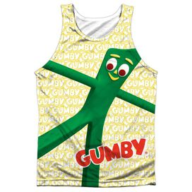 Gumby Stretched Adult 100% Poly Tank Top