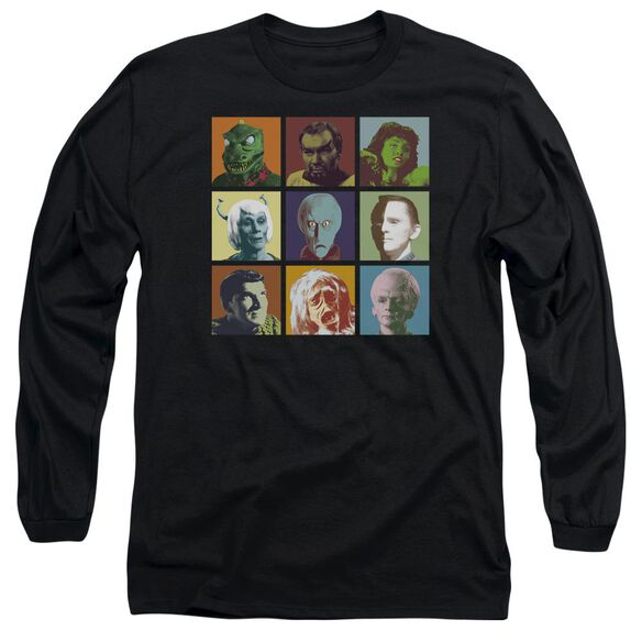 Star Trek Alien Squares Long Sleeve Adult T-Shirt