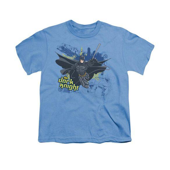 Dark Knight Jump Swing And Drive Short Sleeve Youth Carolina T-Shirt