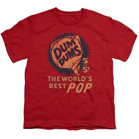 Dum Dums 5 For 5 Short Sleeve Youth T-Shirt