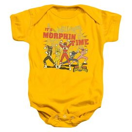 Power Rangers Morphin Time Infant Snapsuit Gold