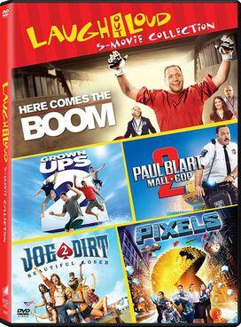 Grownups 2 / Here Comes the Boom / Joe Dirt 2: Beautiful Loser / Paul Blart:Mall Cop 2 / Pixels