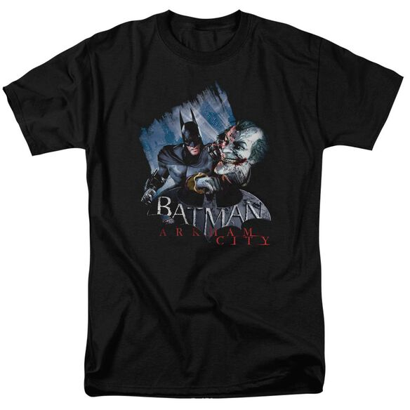 Arkham City Jokes On You! Short Sleeve Adult T-Shirt