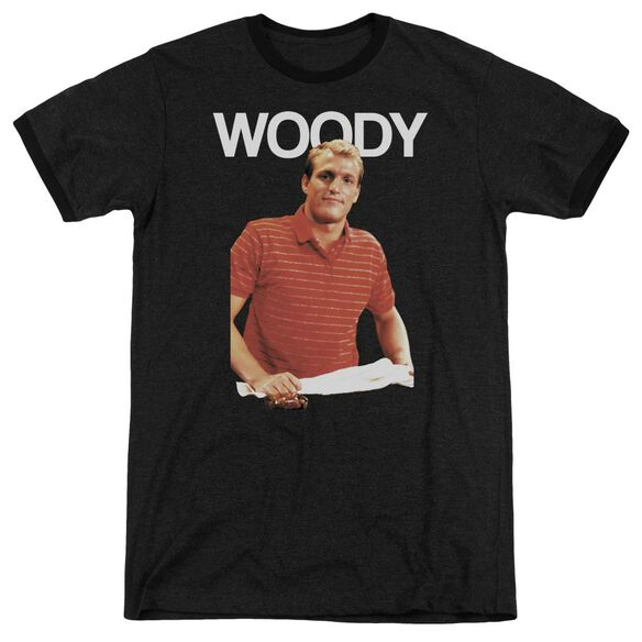 Cheers Woody Adult Heather Ringer
