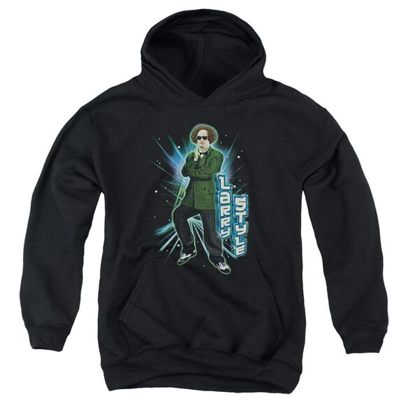 Three Stooges Larry Style Youth Pull Over Hoodie