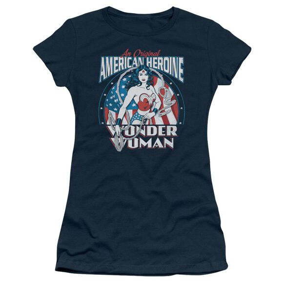Dc American Heroine Short Sleeve Junior Sheer T-Shirt