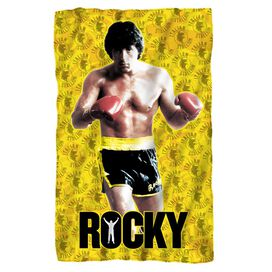 Rocky Stallion Stance Fleece Blanket