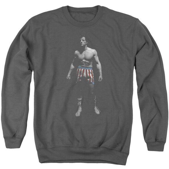 Rocky Stand Alone Adult Crewneck Sweatshirt
