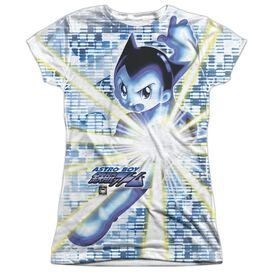 Astro Boy Beams Short Sleeve Junior Poly Crew T-Shirt