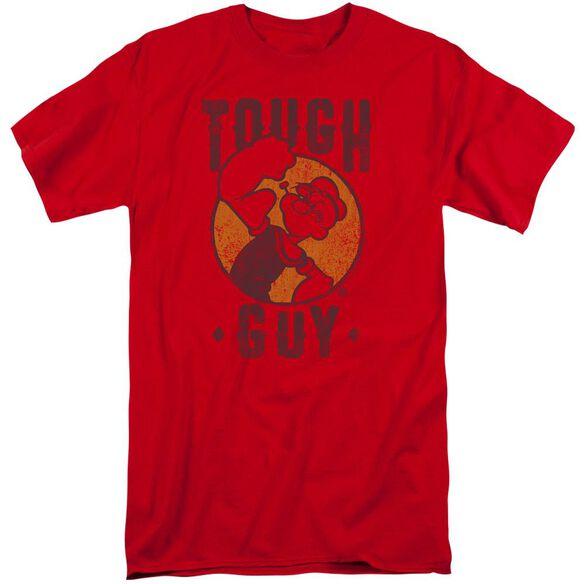Popeye Tough Guy Short Sleeve Adult Tall T-Shirt