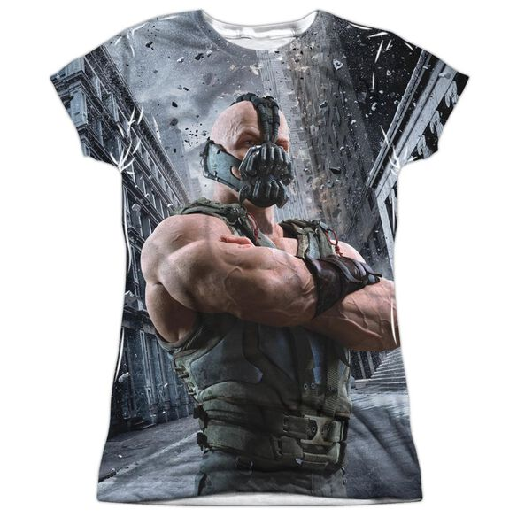 Dark Knight Rises Occupy Gotham Short Sleeve Junior Poly Crew T-Shirt