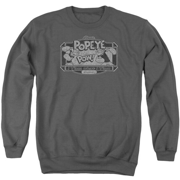 Popeye Classic Popeye Adult Crewneck Sweatshirt