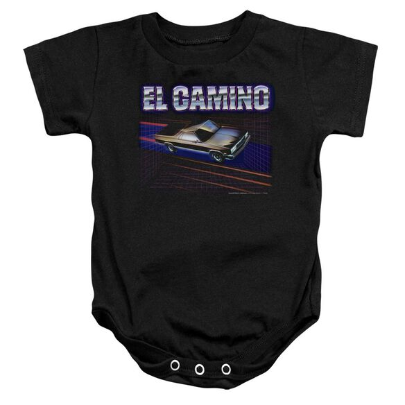 Chevrolet El Camino 85 Infant Snapsuit Black