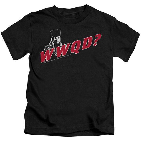 Star Trek Wwqd Short Sleeve Juvenile Black T-Shirt